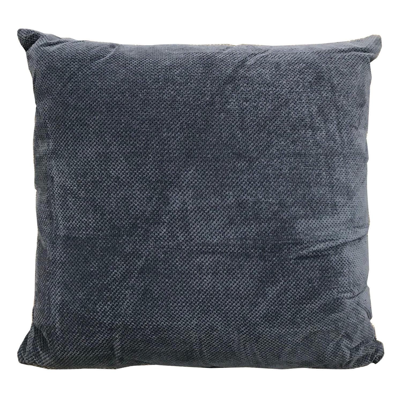 Roslev Fabric Scatter Cushion, Dark Blue