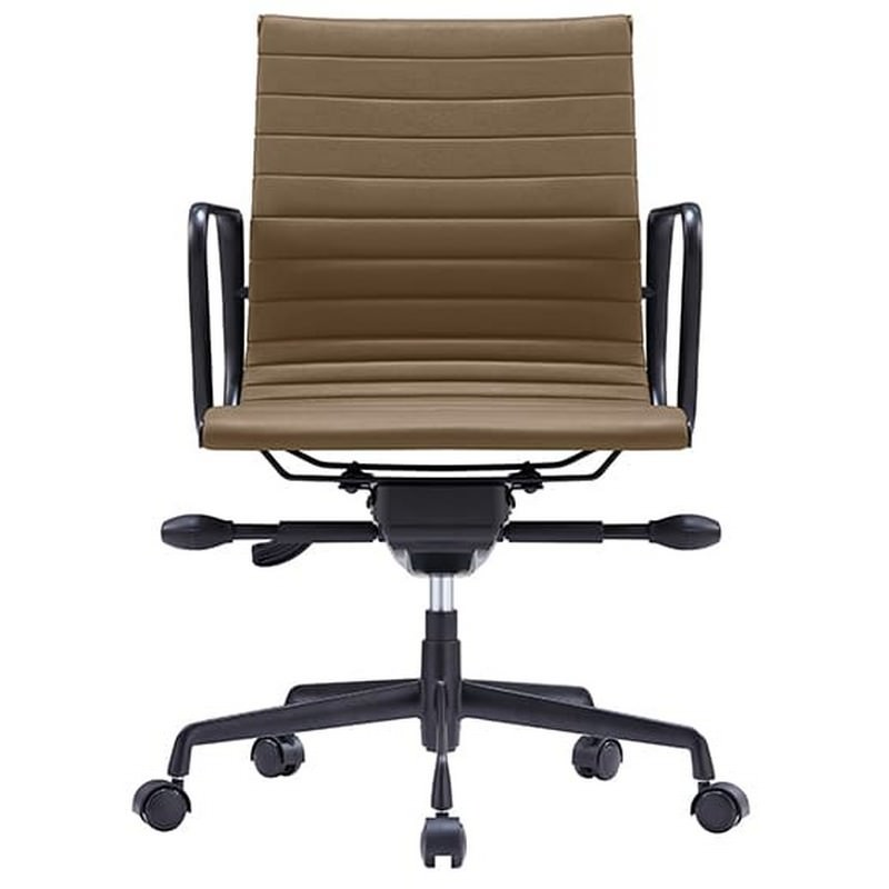 Volt PU Leather Boardroom Chair, Tan