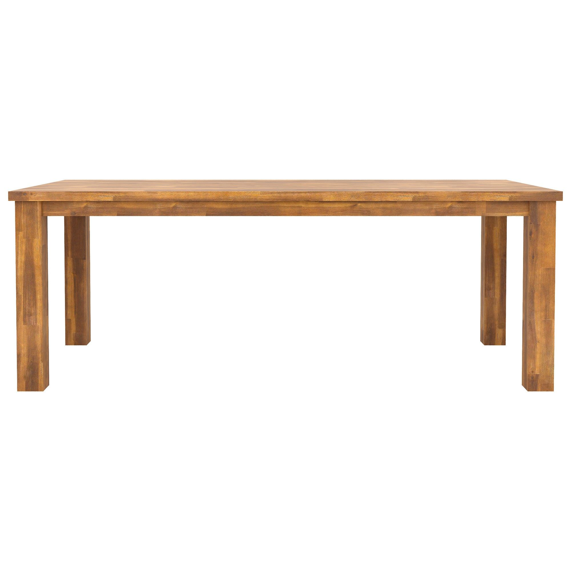 Bowden Acacia Timber Dining Table, 180cm