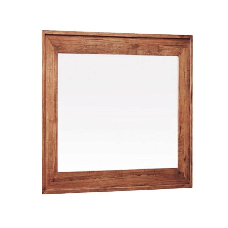 Cooper Mountain Ash Timber Frame Dressing Mirror, 105cm