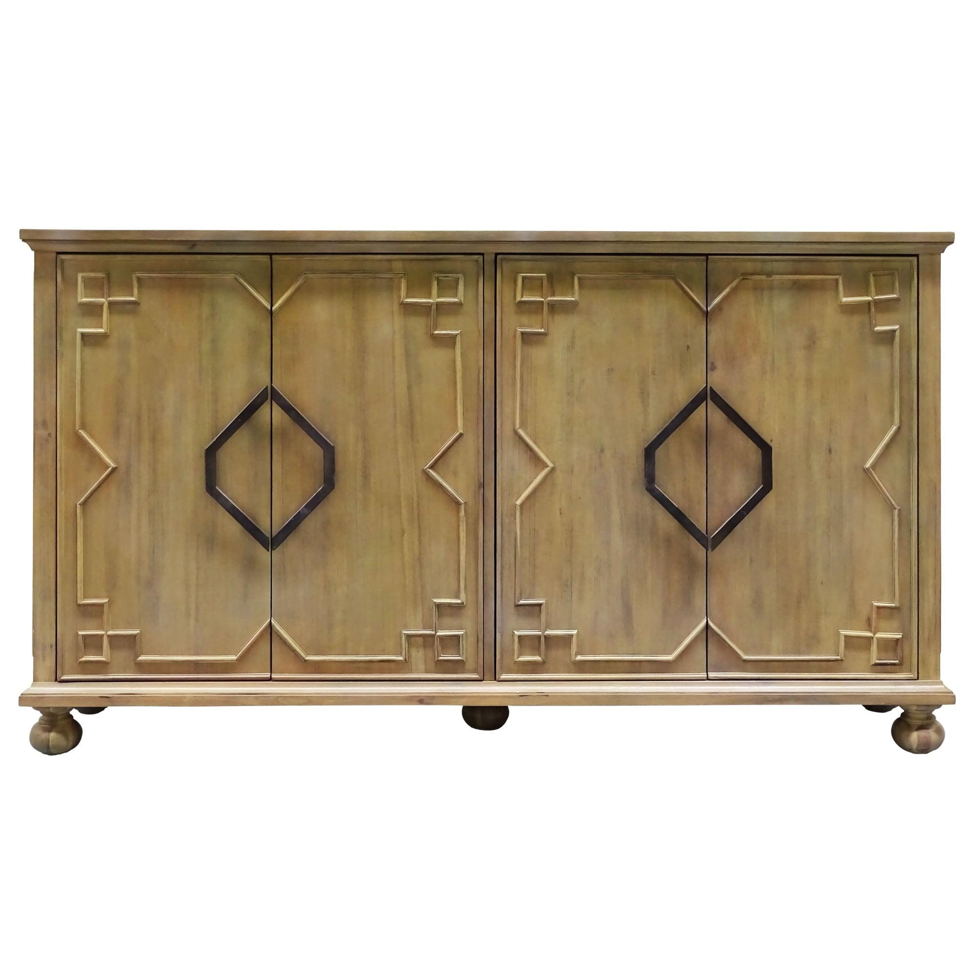 Nova 4 Door Buffet Table, 158cm