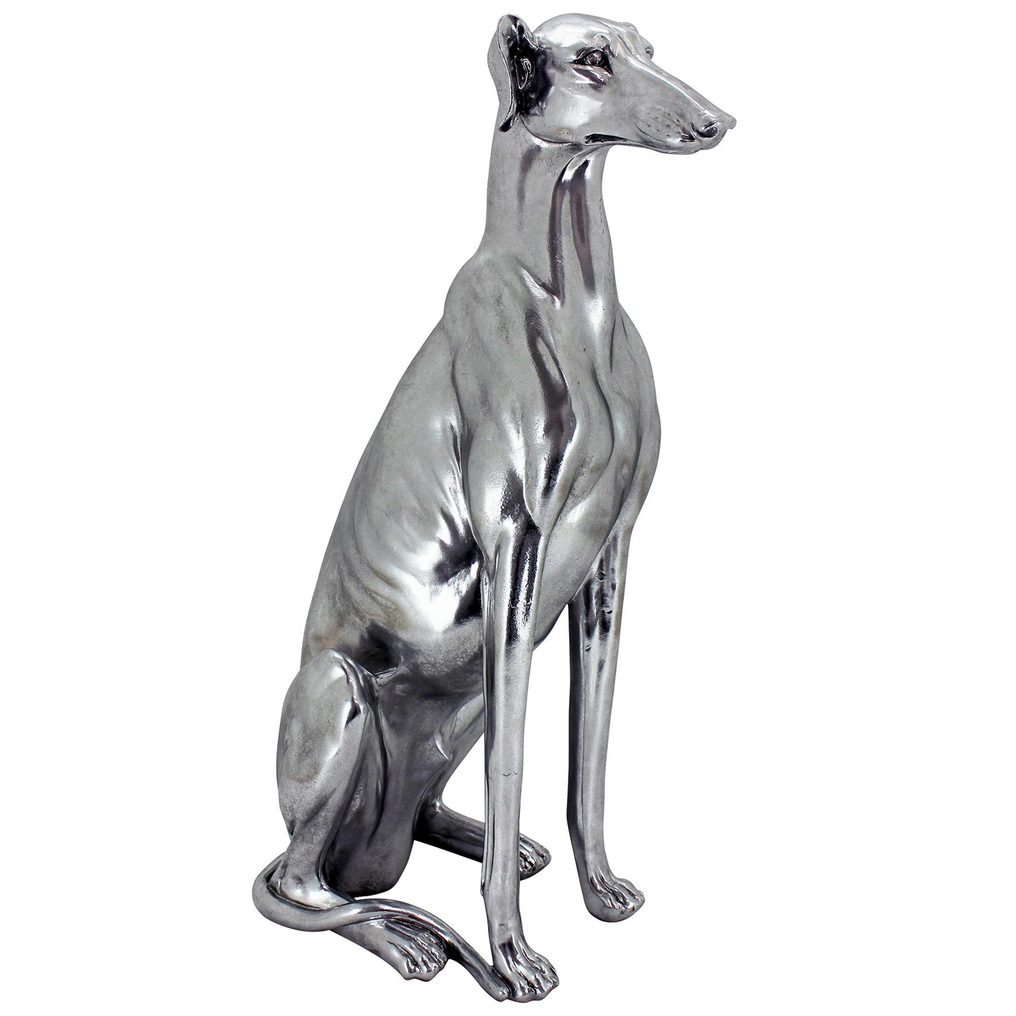 Max Greyhound Dog Scuplture