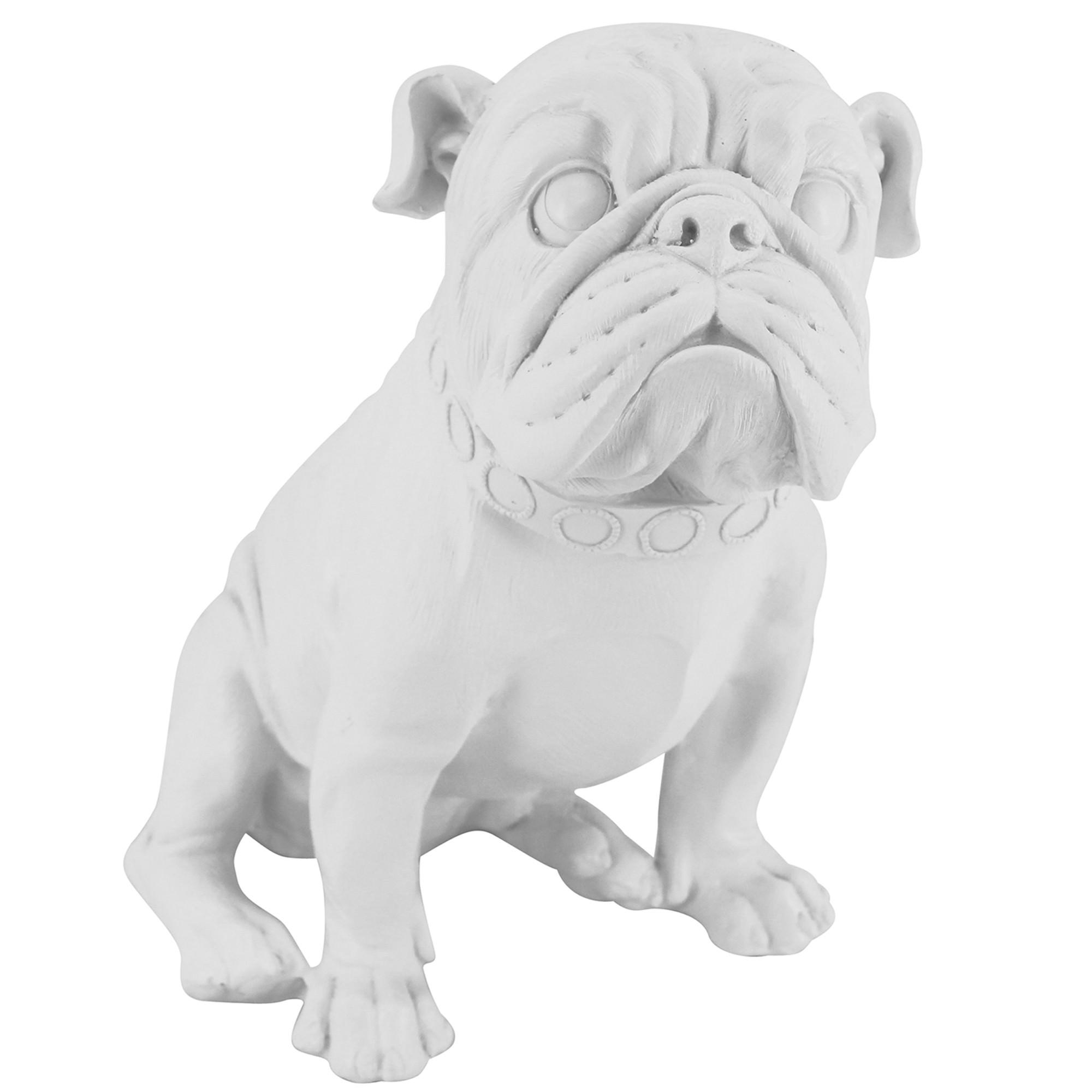 Charlie Bull Dog Scuplture