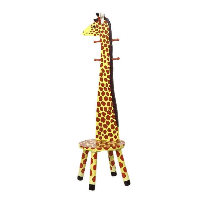Giraffe High Back Stool