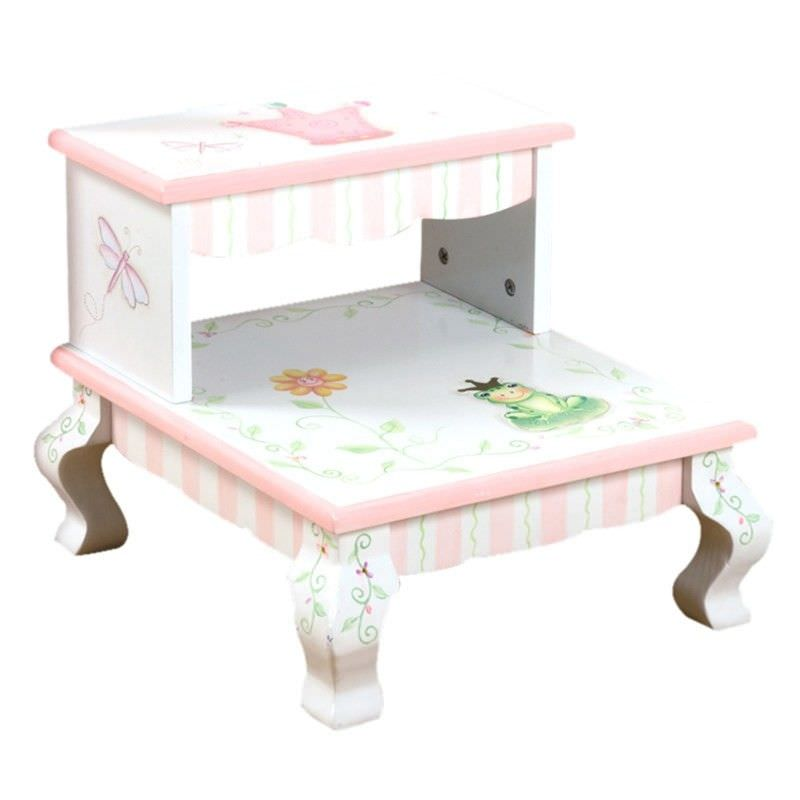 Fantasy Fields by Teamson Princess & Frog Kids Step Stool