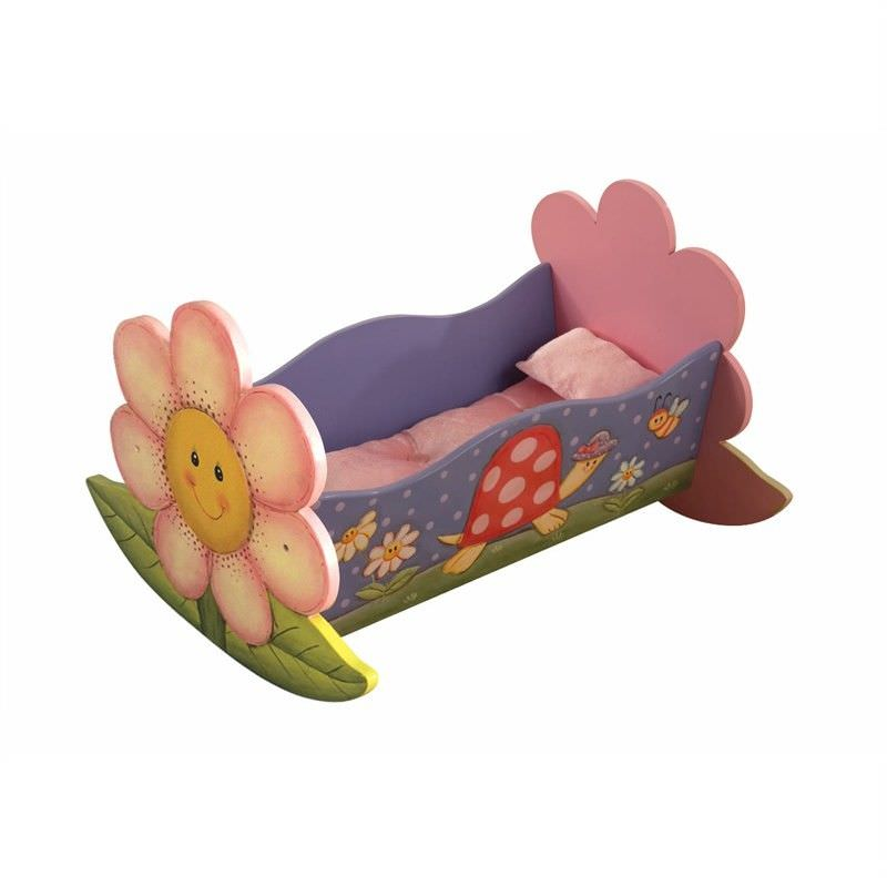 Magic Garden Dolls Rocking Bed