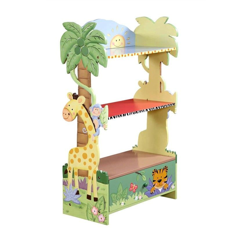 Sunny Safari Bookshelf With Drawer