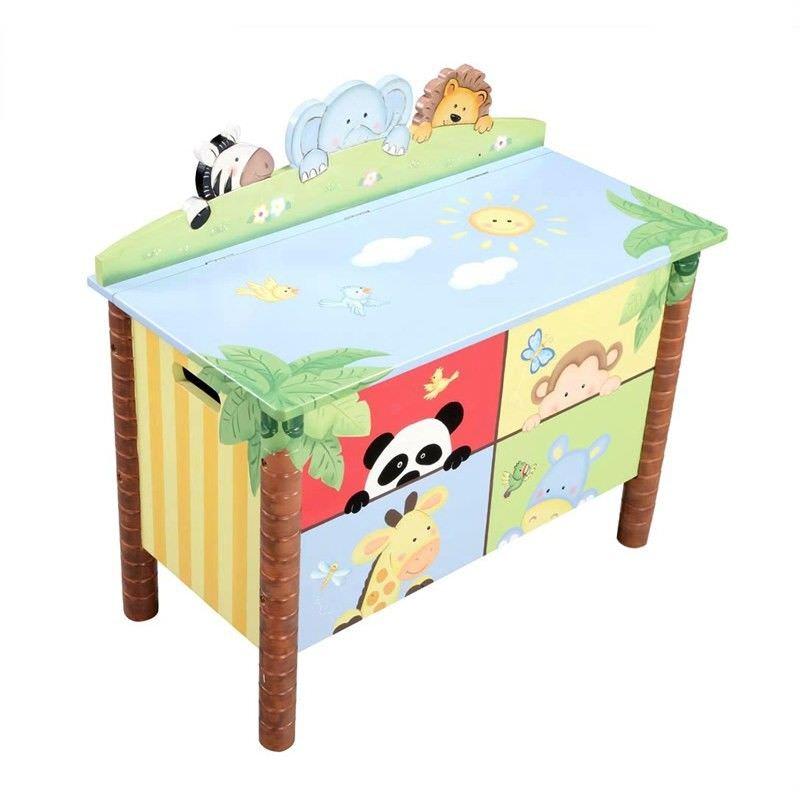 Sunny Safari Toy Box