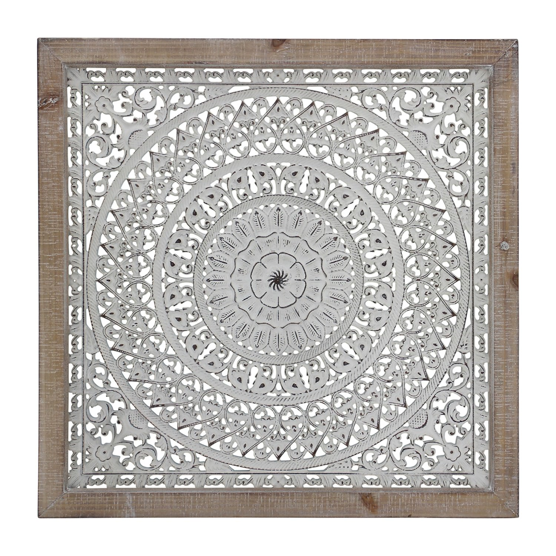 Kadek Framed Metal Wall Art, 66cm