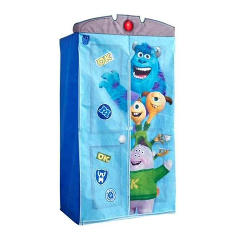 Worlds Apart Monsters University Fabric Wardrobe