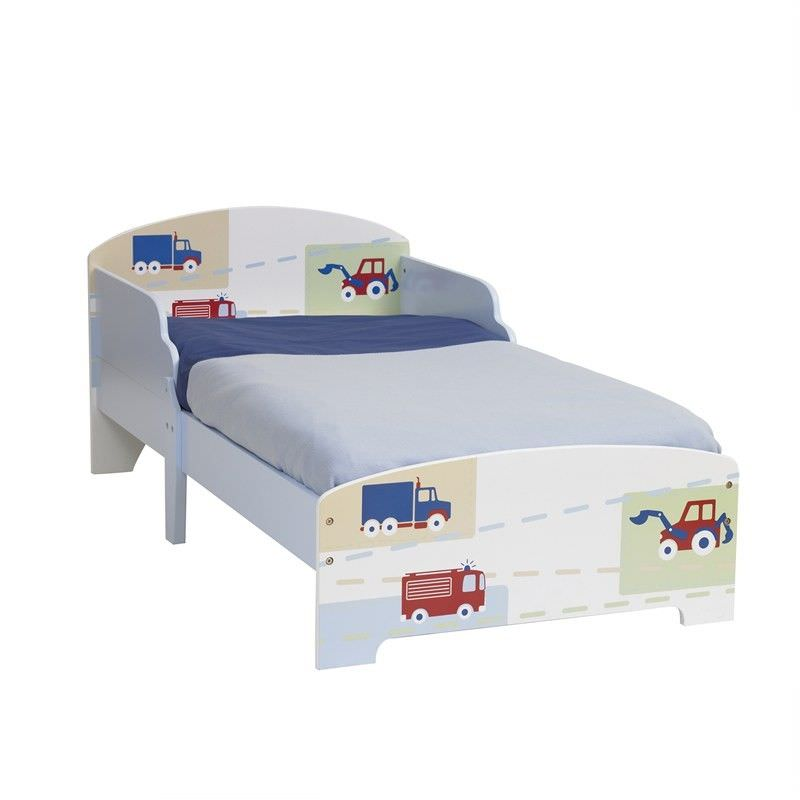 Worlds Apart Vehicles Toddler Bed