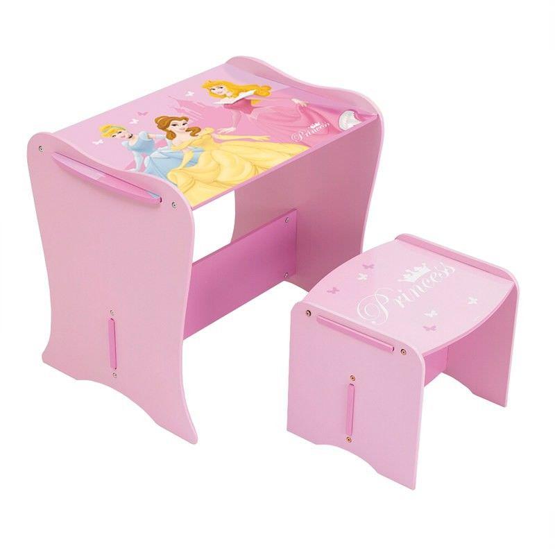 Worlds Apart Disney Princess Desk with Stool