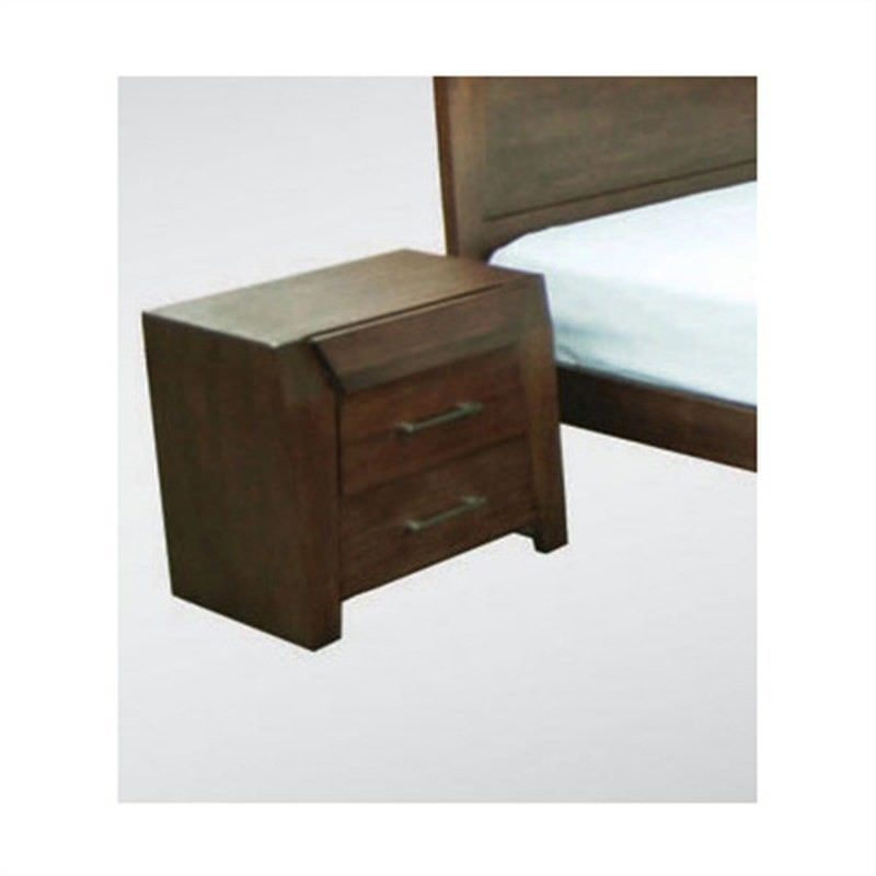 WD-002 Bedside Table in Expresso Tasmanian Oak