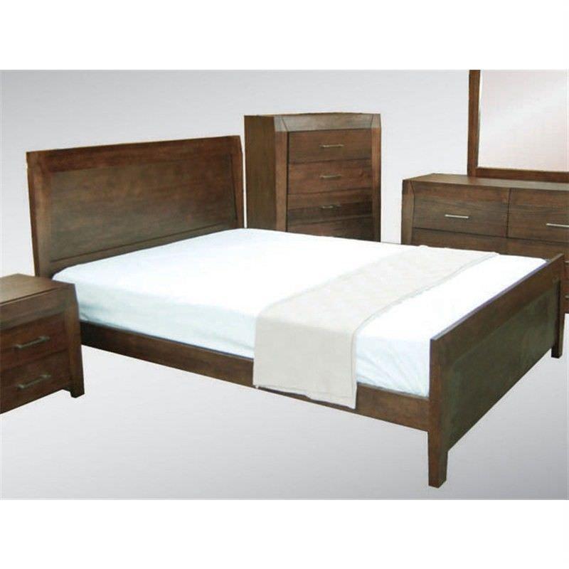 WD-002 Queen Bed in Expresso Tasmanian Oak