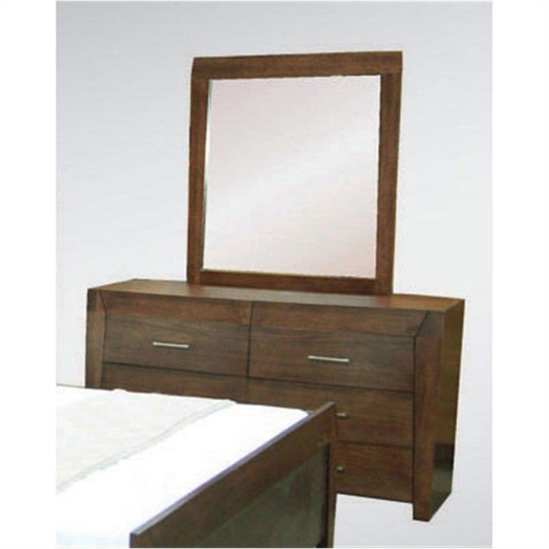 WD-002 Tasmanian Oak Frame Dressing Mirror (Mirror Only), Espresso
