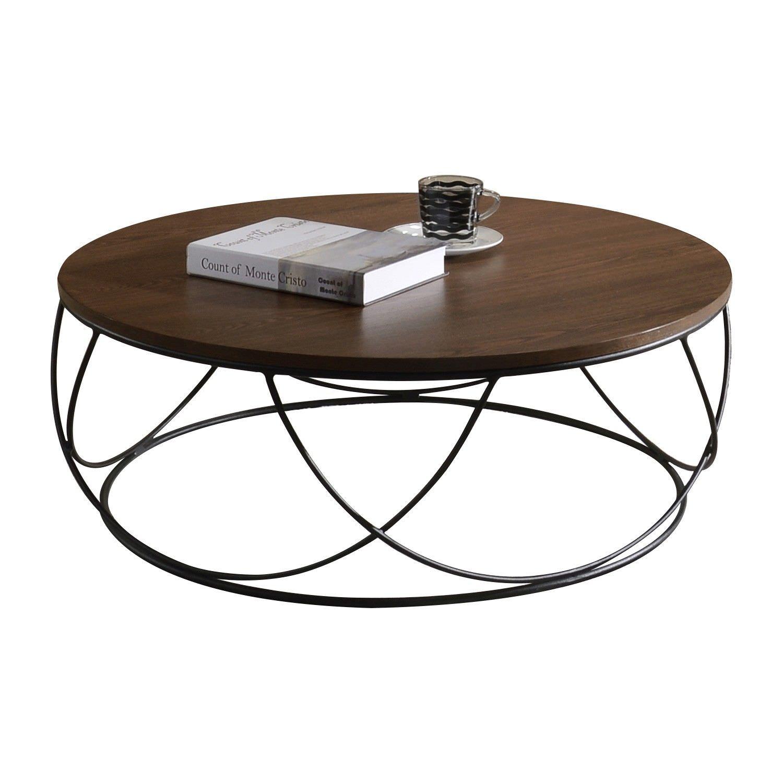 Makana Round Coffee Table, 80cm