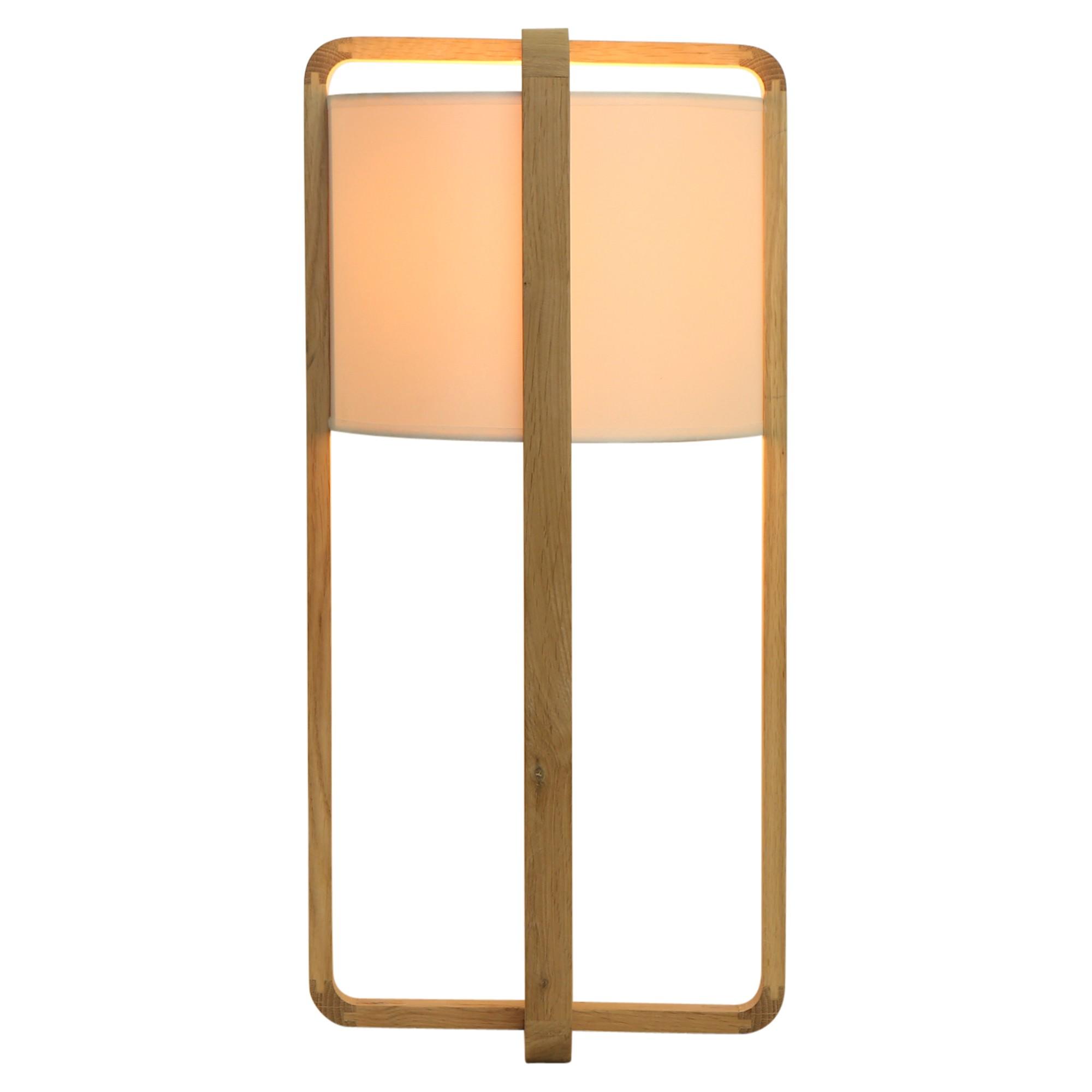 Genoa Oak Timber Base Table Lamp