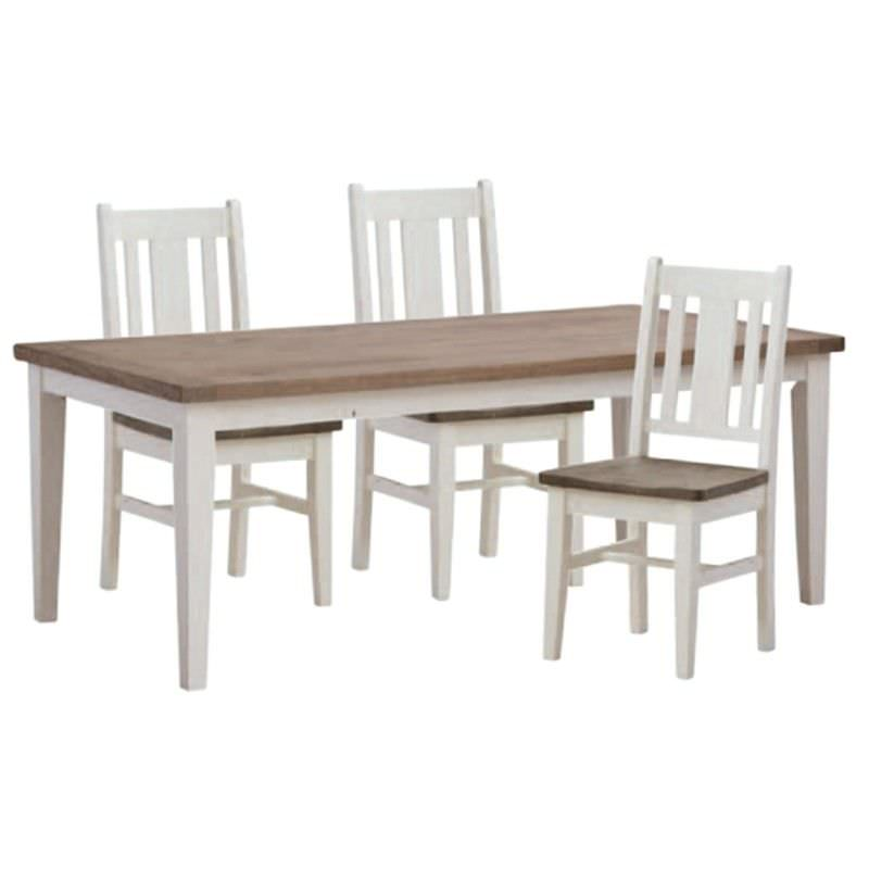 White Haven Solid Pine Timber 210cm Dining Table (Table Only)