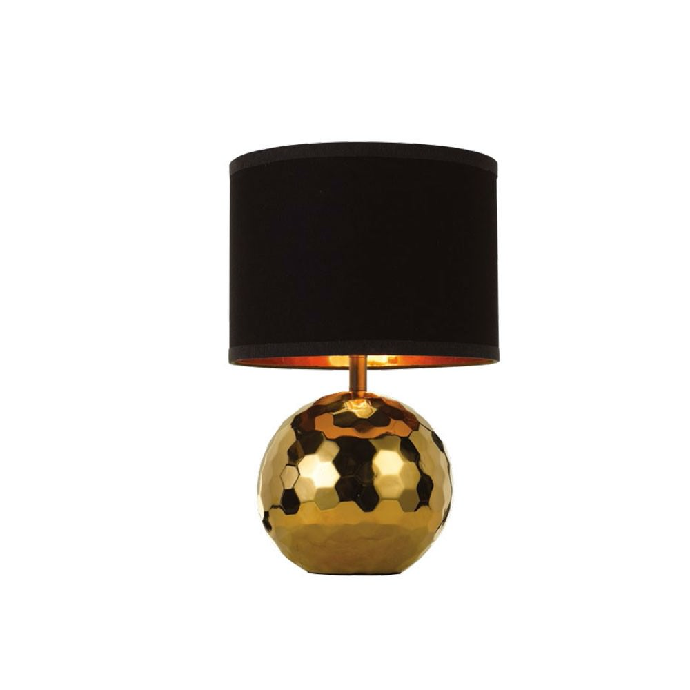 Wise Table Lamp, Gold / Black
