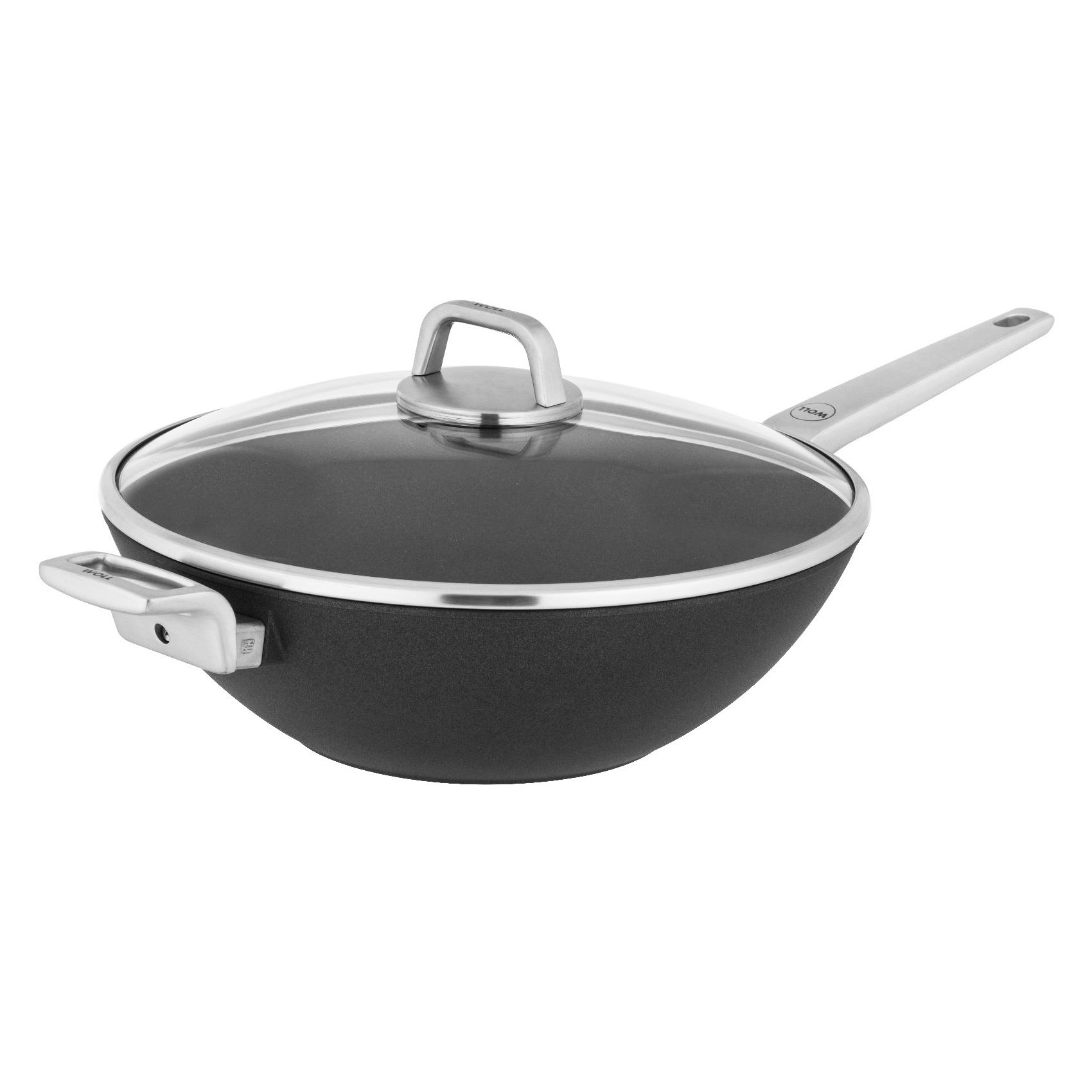 Woll Diamond Lite Pro Induction Wok with Lid, 34cm