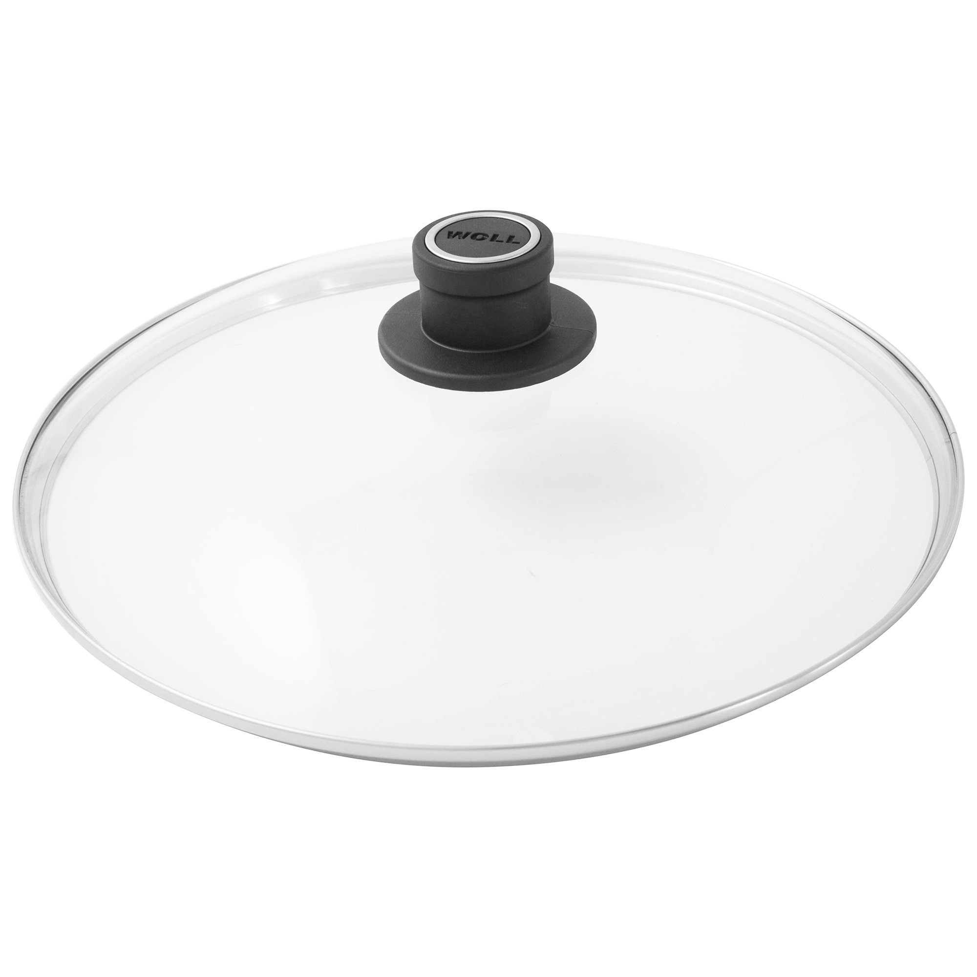 Woll Safety Glass Lid, Round, 28cm