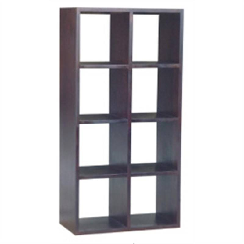 Display Rack with 8 Cubes