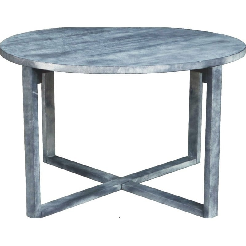 Osaka Round Dining Table in Chikori Wash Mango Wood