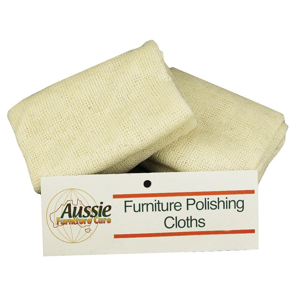 AFC Wood Polishing Cloths, 2 Pack
