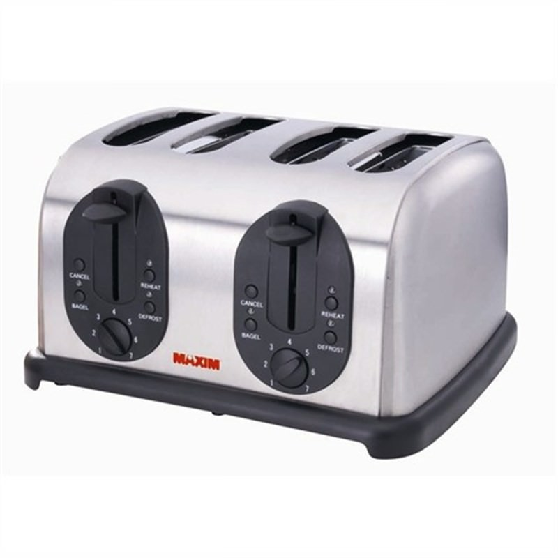 Maxim Automatic 4 Slice Stainless Steel Finish Toaster