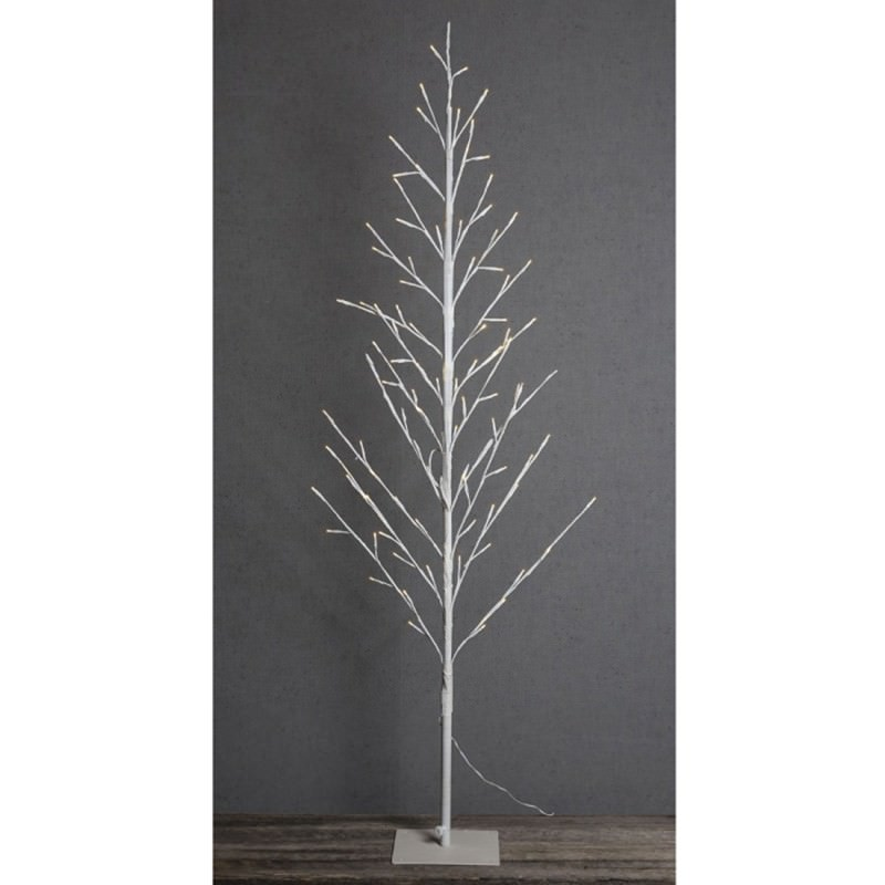 Ravi LED Light Up Twig Tree, 150cm, White