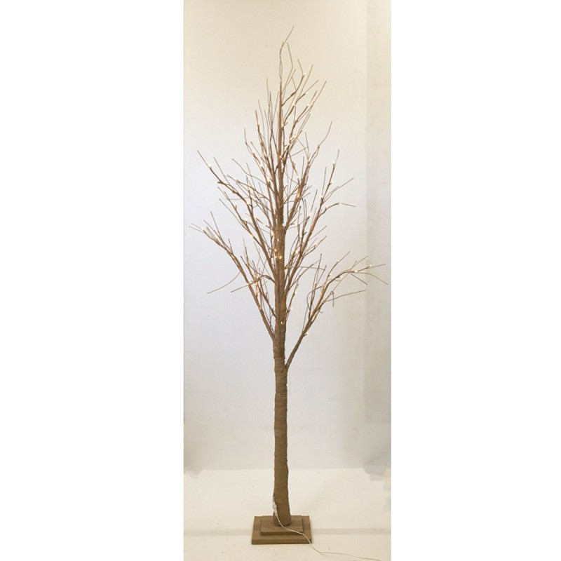 Shelley LED Light Up Twig Tree, 210cm, Latte