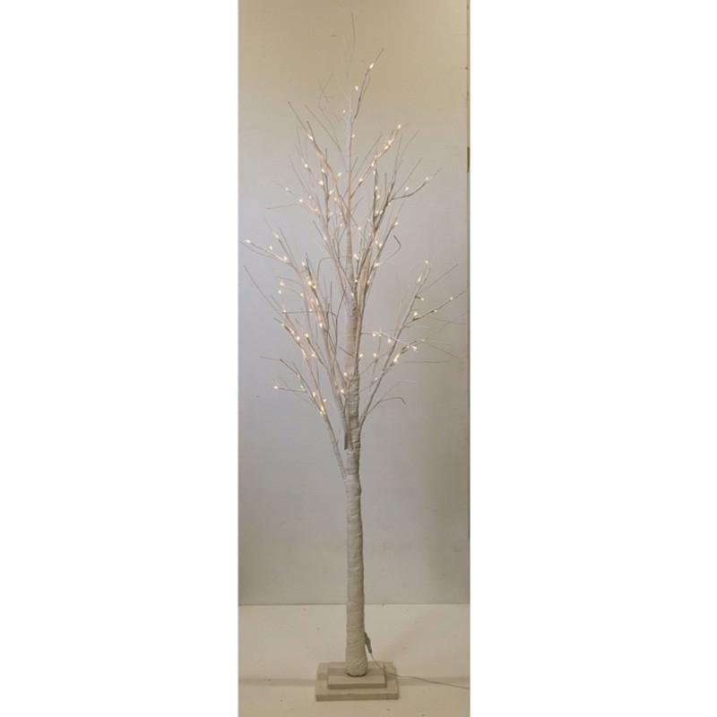 Shelley LED Light Up Twig Tree, 210cm, White