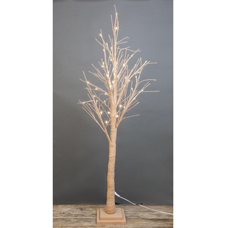 Shelley LED Light Up Twig Tree, 120cm, Latte