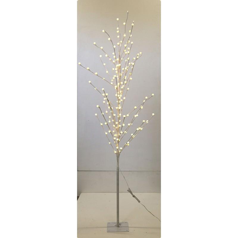 Braydon Metal LED Light Up Twig Tree, 180cm