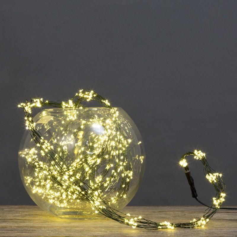 Copper Bunch LED String Light, 300cm