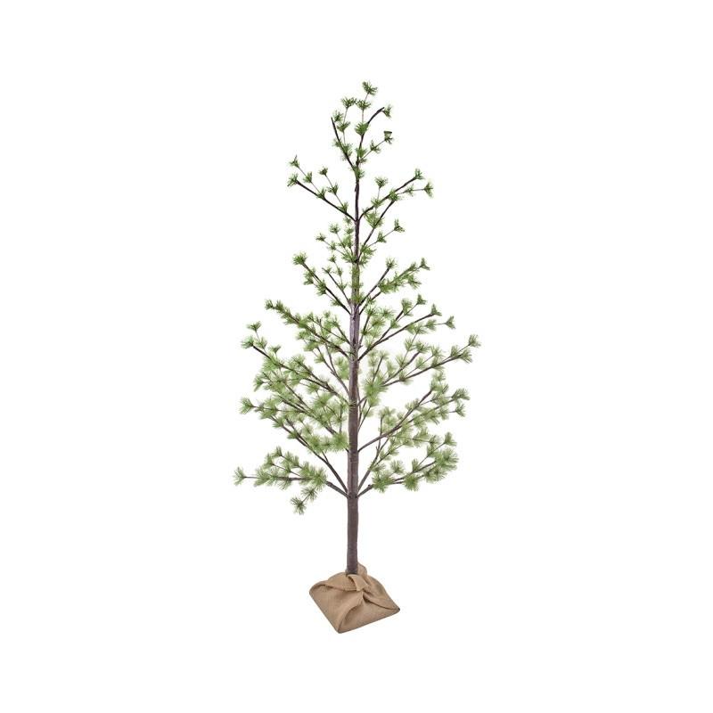 Idris LED Light Up Artificial Pine Tree, 180cm