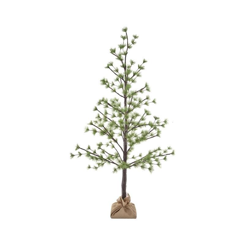Idris LED Light Up Artificial Pine Tree, 150cm