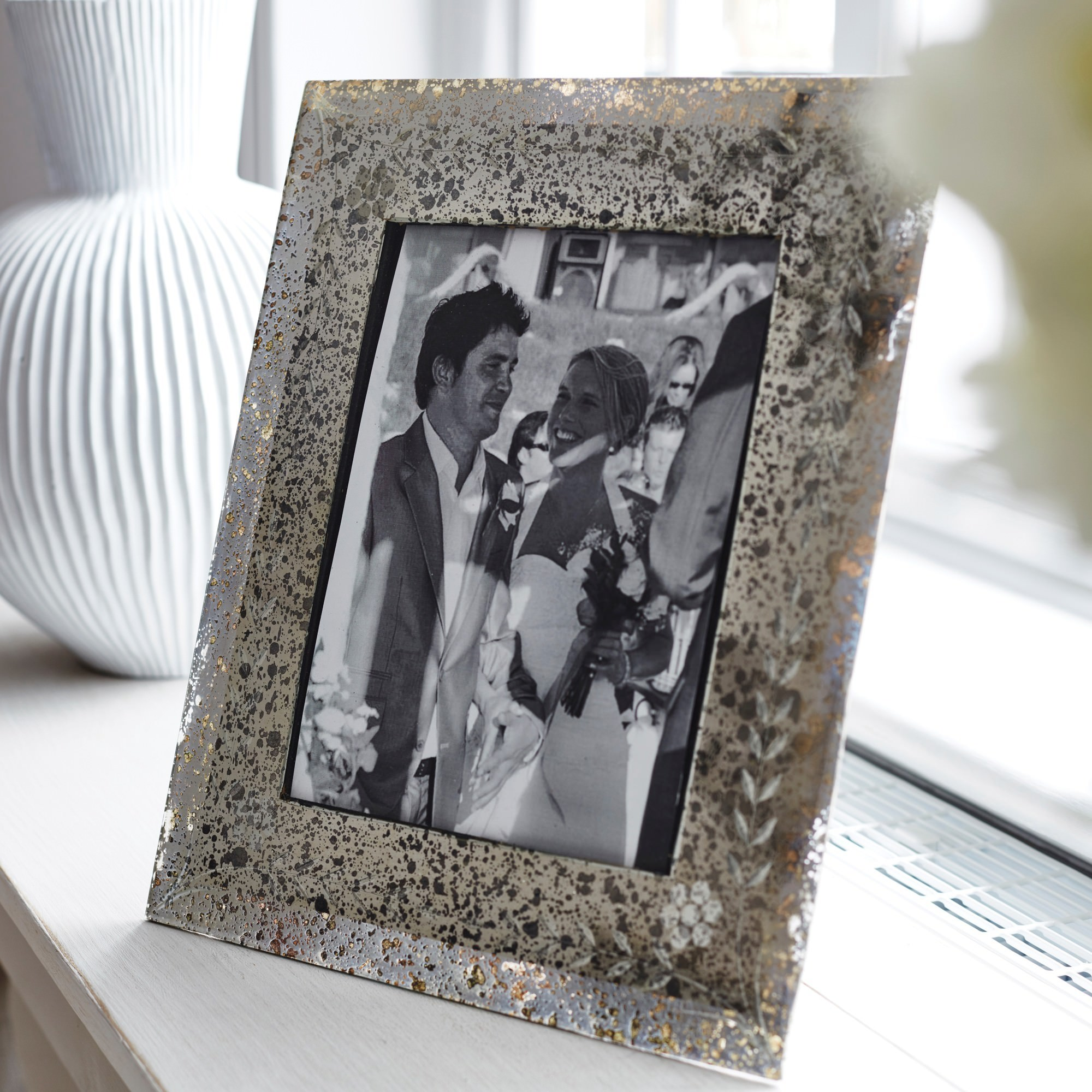 Hodson Glass Photo Frame, 4x6""