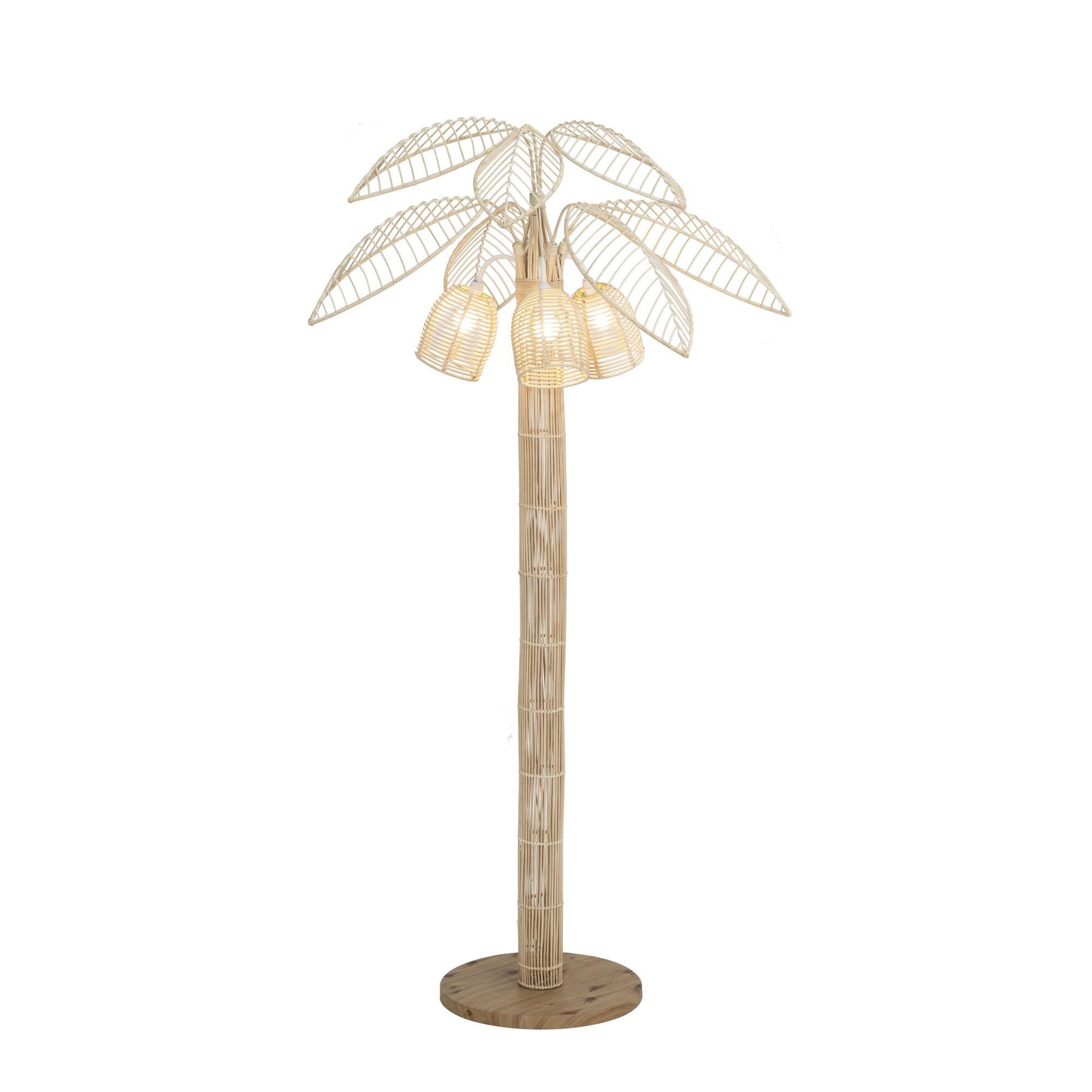 Palmilla Rattan Floor Lamp