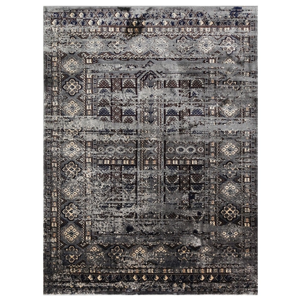 Artifact Ziba Distressed Oriental Rug, 80x150cm