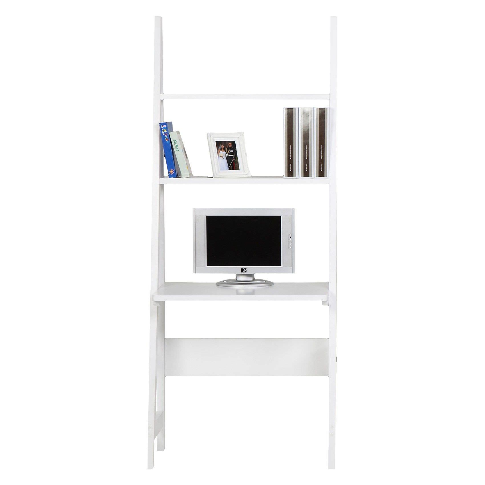 Ciarans Ladder Computer Desk with Shelf