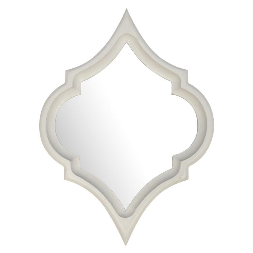 Marsa Wall Mirror, 60cm, White