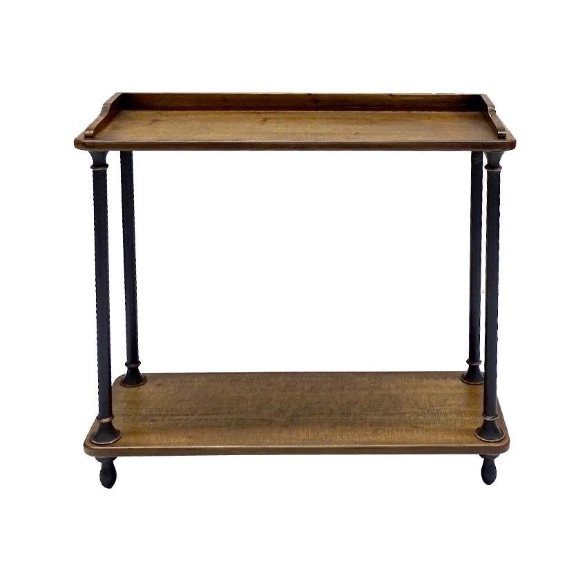Perkins Timber & Metal Sideboard, 80cm