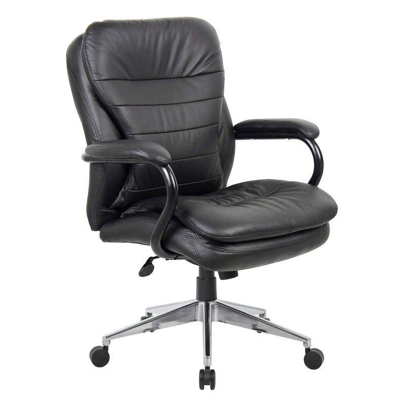 Titan Leather Mid Back Executive Chair