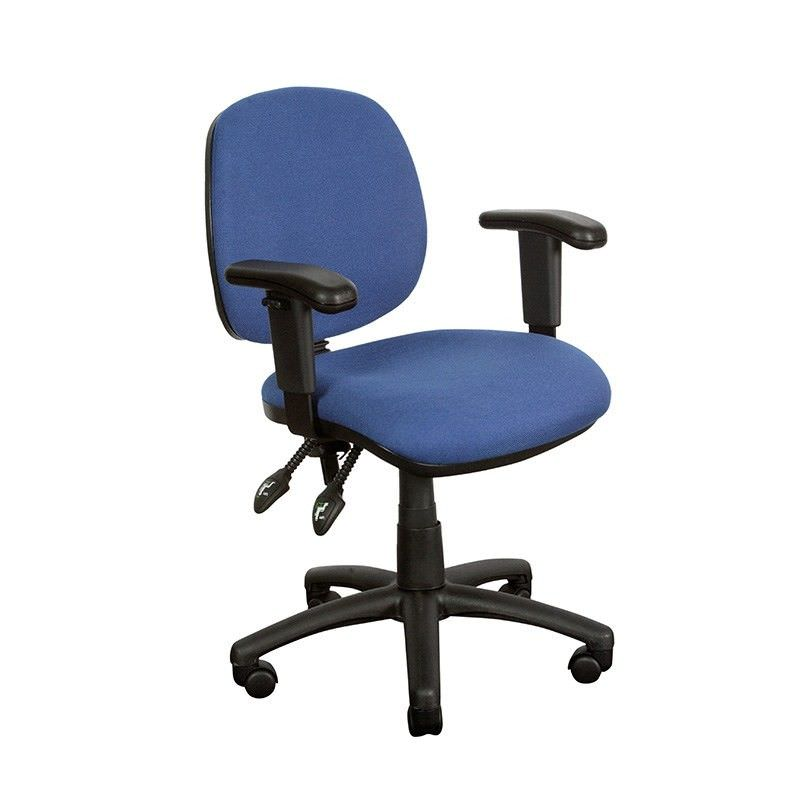 Task Blue Chair with Arms - YS07A