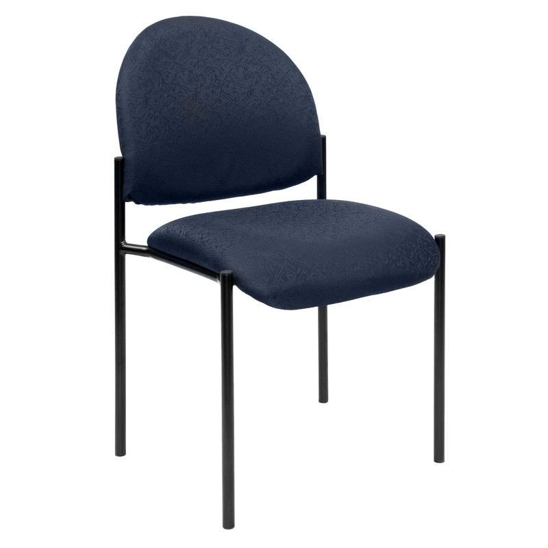 Felman Stackable Fabirc Visitor Chair, Blue