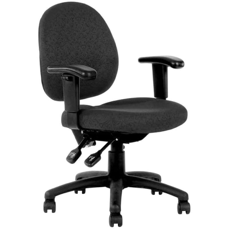 Lincoln Fabric Office Chair with Arms