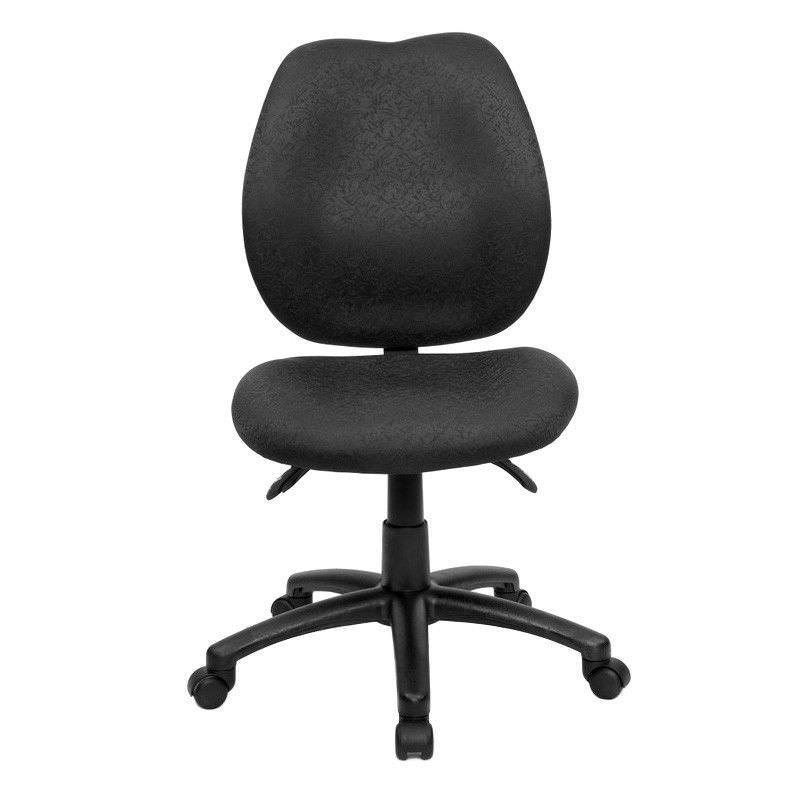 Sabina Fabric Office Chair, Black