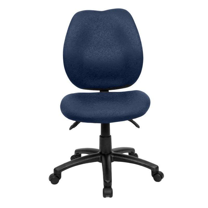 Sabina Fabric Office Chair, Blue