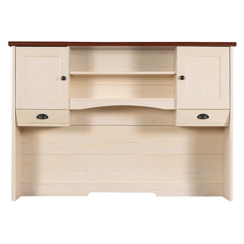 Nepean Engineered Wood Desk Hutch, Antique White